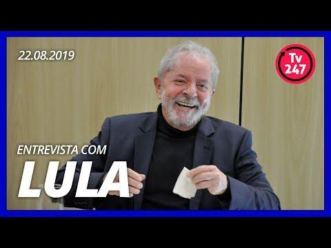 Exclusivo: Entrevista de Lula à TV 247