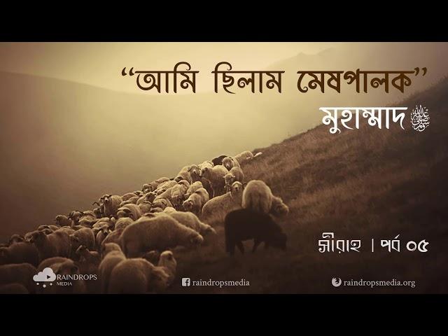 পর্ব ০৫ | সীরাহ | যুবক বয়সে রাসূলুল্লাহ (সা) এবং কাবা পুনর্নিমাণের কাহিনী | Rain Drops Media