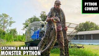 Catching A Giant Python On Python Island