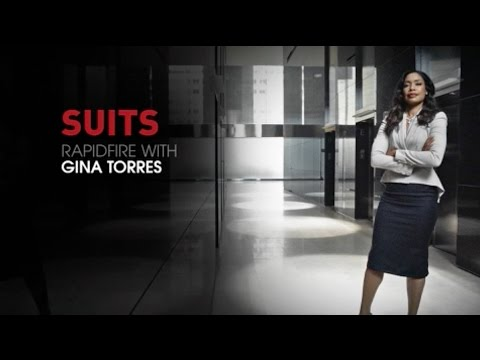 Gina Torres Rapid Fire Questions  Suits Season 5