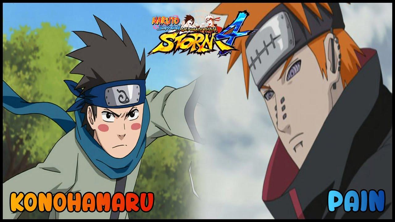 Naruto Shippuden Ultimate Ninja Storm 4 - KONOHAMARU VS ...