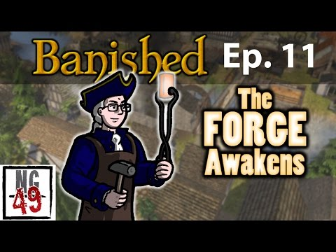 Banished Colonial Charter - Episode 11- New Buildings