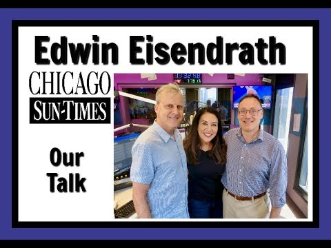 New Chicago Sun-Times CEO Edwin Eisendrath with Sirott and Murciano