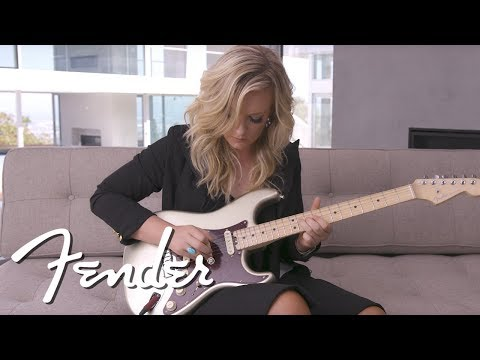 Clare Dunn Demos The Fender American Elite Stratocaster  American Elite  Fender