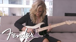 Clare Dunn Demos The Fender American Elite Stratocaster | American Elite | Fender