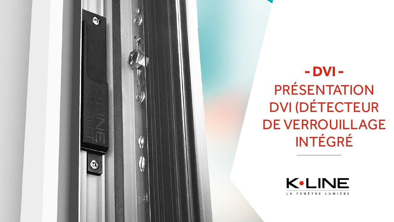 Détecteur De Verrouillage Intégré Dvi K Line La Fenêtre Lumière