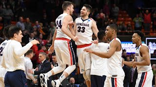 Gonzaga holds on for a 90-84 win over Ohio State in the second round
