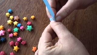 Estrelinha de origami