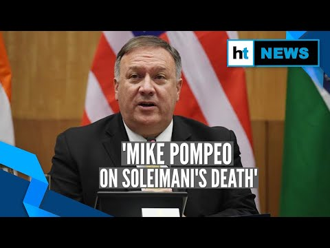 Soleimani killing: Iraqis 'dancing in the streets,' says Mike Pompeo