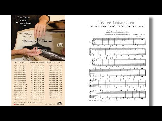Carl Czerny: Estudio Op. 100 No. 1