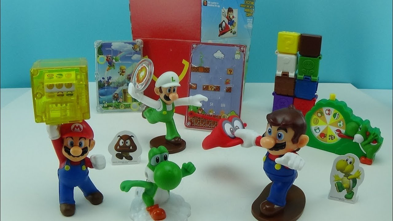 McDONALD'S  2018 SUPER MARIO BROS. HAPPY MEAL