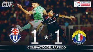 U. de Chile 1  - 1 Audax Italiano | Campeonato AFP PlanVital 2019 Segunda Fase | Fecha 2 | CDF