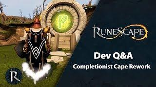 RuneScape Dev Q&A (Mar 2019) - Comp Cape Rework