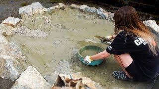 池作り。彼女と一緒に4メートルの巨大池を作る。 thumbnail