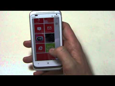 HTC Radar 4G Review Part 1