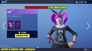 *NEW* LACE & PARADOX SKINS! (Fortnite Item Shop 12th January)