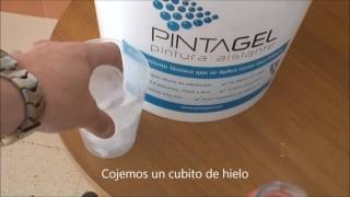 """PINTURA AISLANTE TÉRMICA """"PINTAGEL"""""""