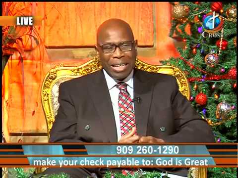 God Is Great with Bishop Raymond E. Watts 12-24-2018