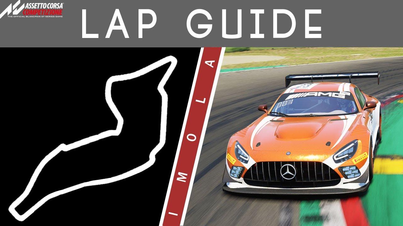 Imola Lap Guide Assetto Corsa Competizione