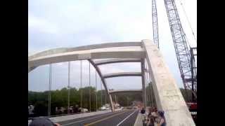 Norridgewock  bridge opening