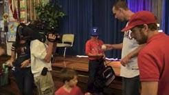 David Murphy visits Stonewall Jackson Elementary
