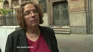 Jüdinnen und Juden sind erschüttert- Das denkt Berlin!
