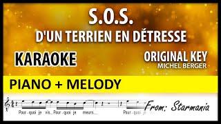 SOS D'un Terrien En Détresse Piano Melody Berger A Minor