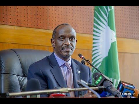 Dr Sezibera Yashimangiye Ko Ibibazo Hagati Y'u Rwanda, Uganda N'u Burundi 'bituruka Ahandi'
