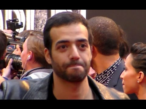 Tarek BOUDALI & l'équipe de Baby Sitting @ Paris 29 mai 2015 Avant Premiere Jurassic World