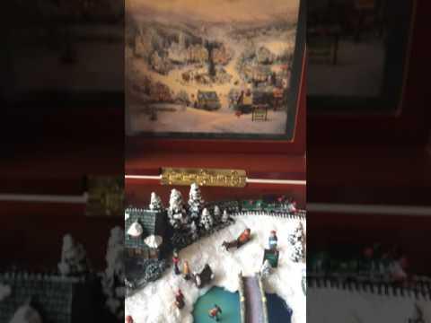 "Thomas Kinkade ""Have Yourself a Merry Little Christmas"" music box"