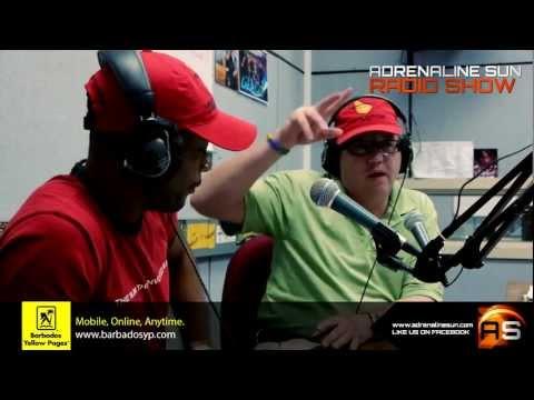 Adrenaline Sun Radio Show - Mount Gay Rum Round Barbados Race 2013
