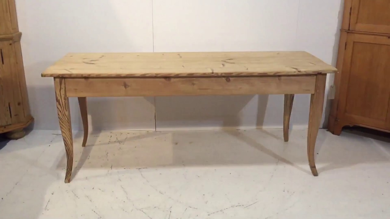 Long, Narrow 6ft Antique Pine Table - Pinefinders Old Pine Furniture  Warehouse - Long, Narrow 6ft Antique Pine Table - Pinefinders Old Pine