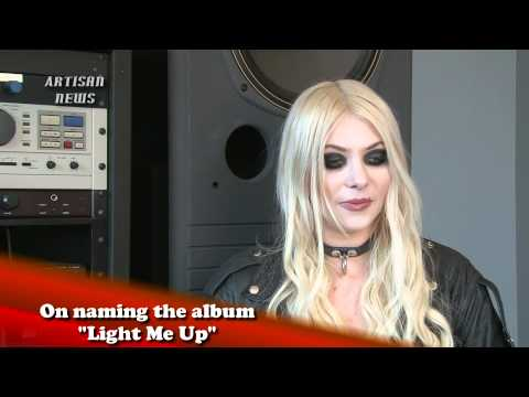 TAYLOR MOMSEN, THE PRETTY RECKLESS INTERVIEW, PART 1