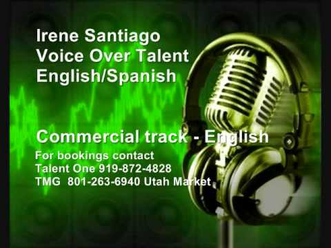 Irene Santiago vo commercial   english track