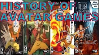 History Of Avatar:The Last Airbender Video Games(2006-2010)