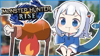 [Monster Hunter Rise] meat spin lol