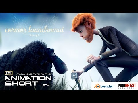"CGI 3D Animation Short ""COSMOS LAUNDROMAT"". Fantastic Adventure Animated Film by Blender Institute"