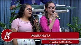 Maranata - Thayla e Andressa