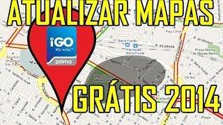 """Atualizar iGO Atualizar Mapas GPS """"GRÁTIS"""" 2014"""