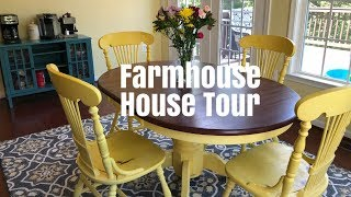 FARMHOUSE STYLE HOME TOUR | SHABBY CHIC| 2018