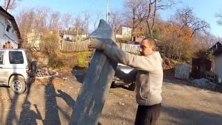 видео Как изготовить силовой бампер своими руками из стекловолокна?
