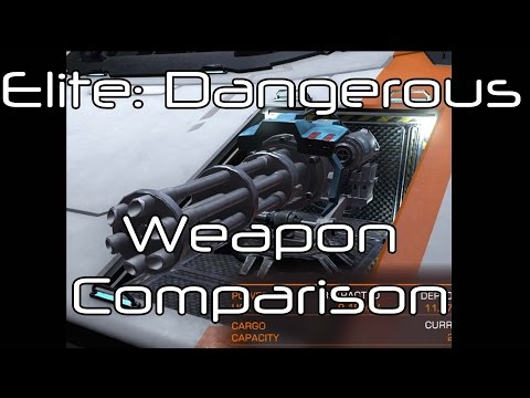 Elite: Dangerous - Beam Lasers vs Pulse Lasers vs Cannons vs Multi-Cannons