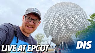 A Rainy Monday Afternoon at EPCOT