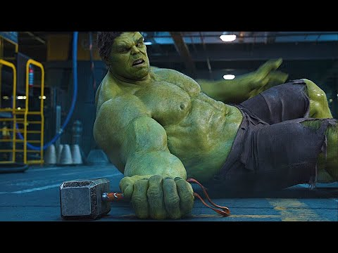 토르 vs 헐크 군함 싸움 장면 | 어벤져스 (The Avengers, 2012) [4K]
