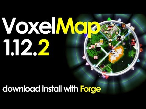VOXELMAP 1.12.2 minecraft - how to download and install voxelmap 1.12.2 [minimap] (with forge)