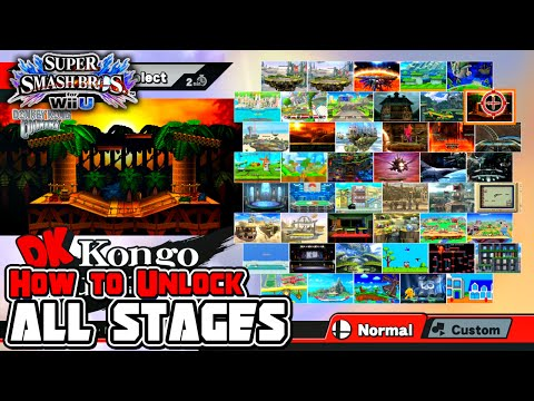 How To Unlock All Stages in Super Smash Bros. for Wii U!