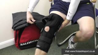 Donjoy Playmaker Wraparound Knee Brace