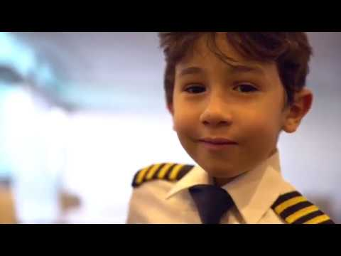 6 Year Old Genius Kid Becomes Etihad Airways Pilot for a Day