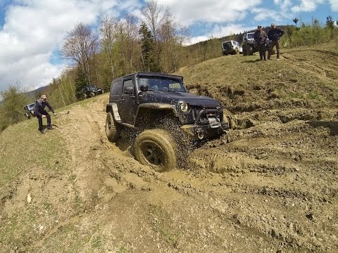 Tabla Butii 2015 Jeep Wrangler Rubicon Off road 4x4 mud, forest KELWOO part 1
