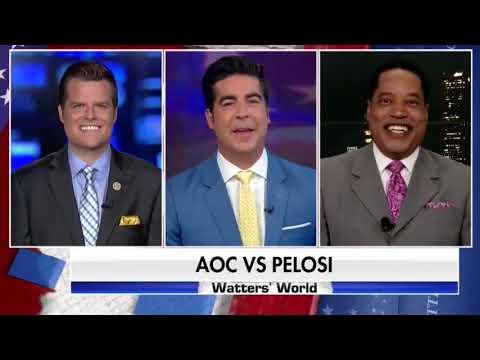 Gaetz Talks AOC/Pelosi Clash on Watters World